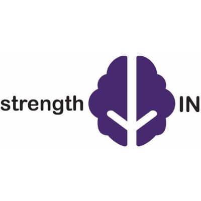 Strength in logo